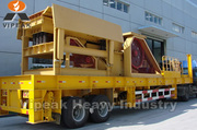 Portable type series mobile crusher/crusher/crushing mill/crushing ma