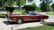 1978 Cadillac Eldorado Two-toned burgundy